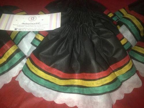 disfraz pollera candombe rumba merengue acto escolar