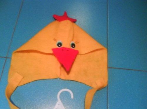 disfraz pollito pajarito animalitos nios fiesta concert