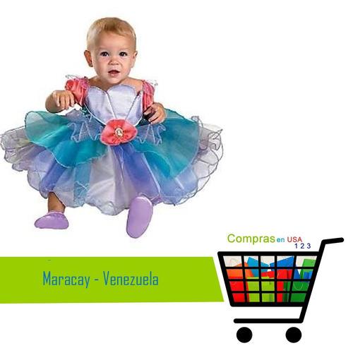 disfraz princesa ariel disney talla 12/18 meses