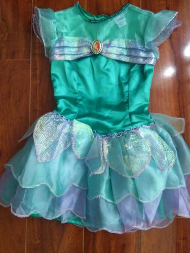 disfraz princesa ariel t8 disney