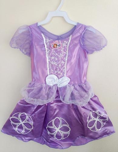 disfraz princesa sofia original disney prendedor y amuleto