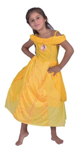 disfraz princesas disney bella original newtoys mundo manias