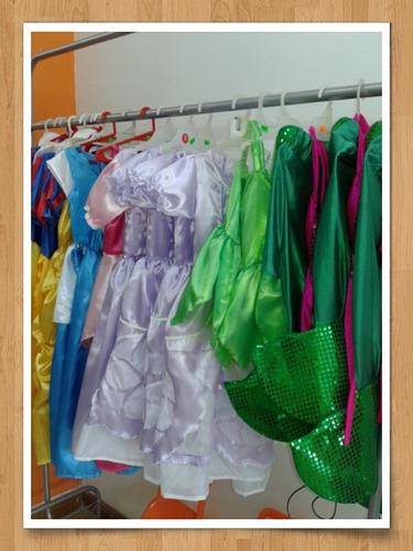 disfraz princesas sofia cenicienta aurora etc 3 a 5 años