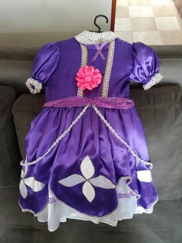 disfraz princesita sofía talla 6 60  mil negociable