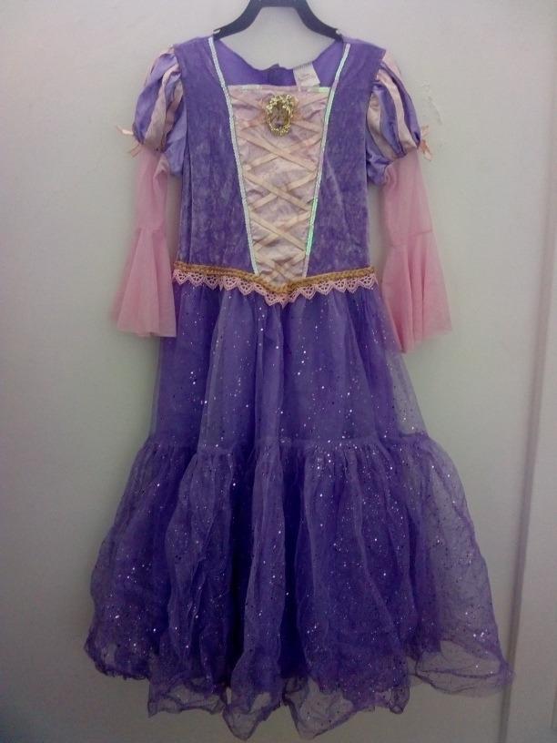 Rapunzel Disfraz Talla 7-8 Años