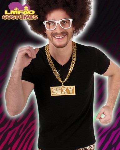disfraz redfoo lmfao party rock! 100% genuino oficial lmfao