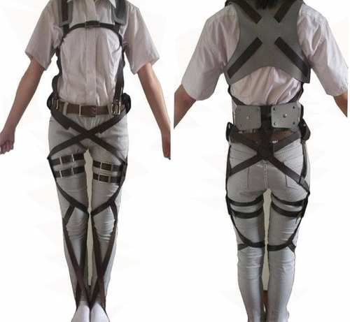disfraz rulercosplay attack on titan leather belts cosplay