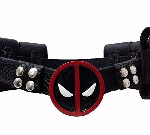 disfraz rulercosplay deadpool game cosplay mask belts
