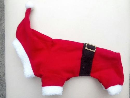 disfraz santa claus gorro talla 4 perro navidad