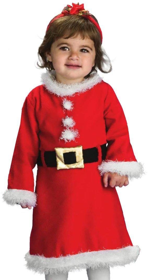 Disfraz santa claus para ni a y bebe papa noel - Disfraz de santa claus para nino ...