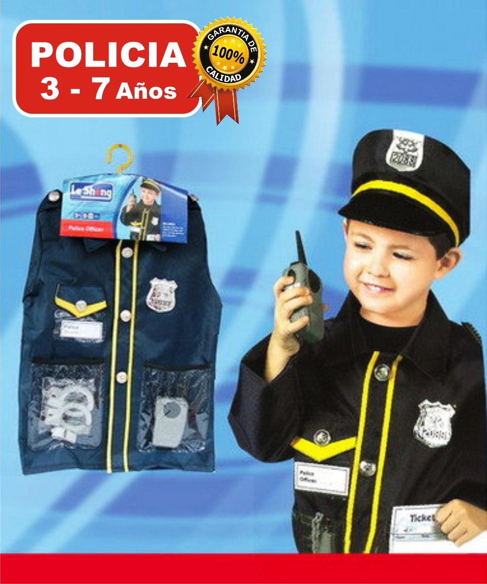disfraz set policía con accesorios cotillón fiesta cumpleaño. Cargando zoom. 39015f4735f