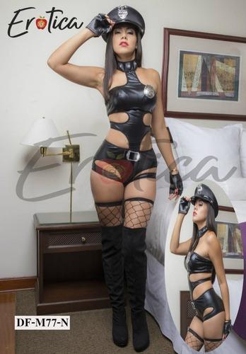 disfraz sexy - disfraces sexy lenceria policia +medias
