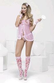 1a39aad7d373 Conjunto 4bidden Hot Kitty La - Conjuntos de Lencería Rosa en ...
