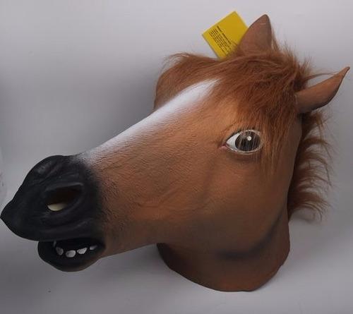 disfraz signstek horror horse head mask scary halloween