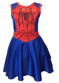 41a5ac280 Disfraz Spider Girl!! Niñas Talle 4,6,8