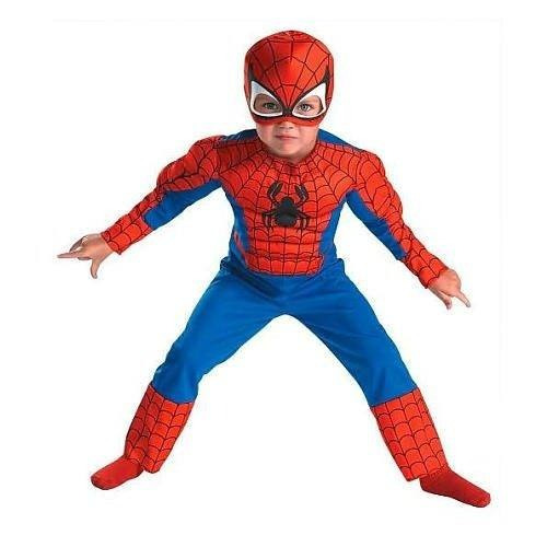 disfraz spider man disguise toddler muscle costume