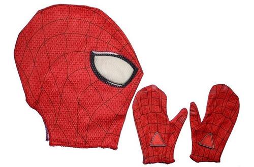 disfraz spiderman musculoso hombre araña ropa niño