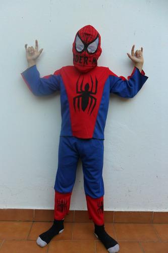 disfraz spiderman, traje hombre araña!