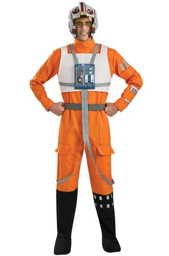 disfraz star wars rubíes pilot adult x-wing -standard