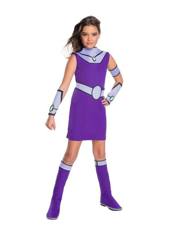 Disfraz Starfire Teen Titans Jovenes Titanes Para Nias -8115