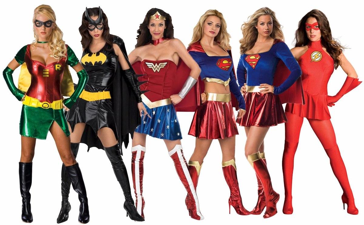 disfraces superheroes