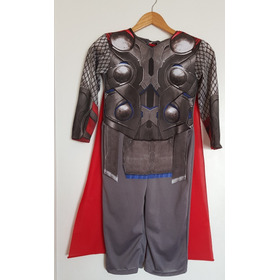 Disfraz Thor Avengers Marvel New Toys Con Capa Para Niño