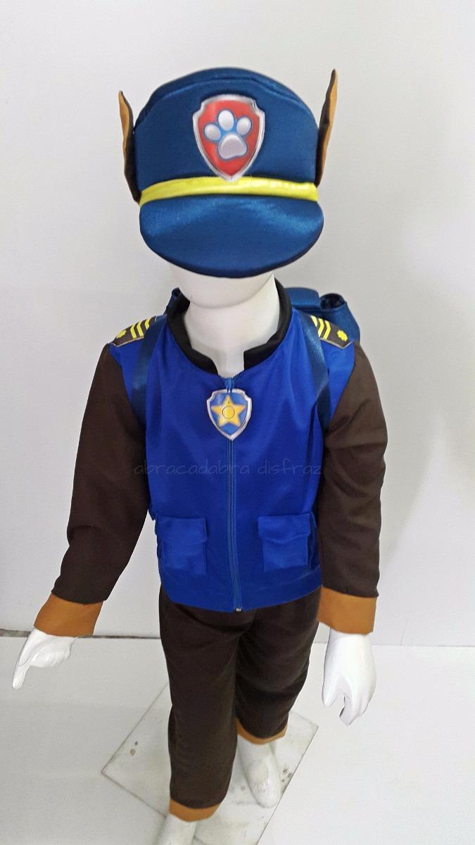 Disfraz Tipo Chase Paw Patrol Perro Policia Patrulla Ryder