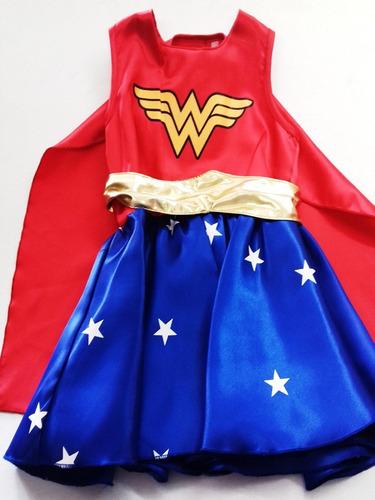 disfraz tipo mujer maravilla princesa supergirl wonder woman
