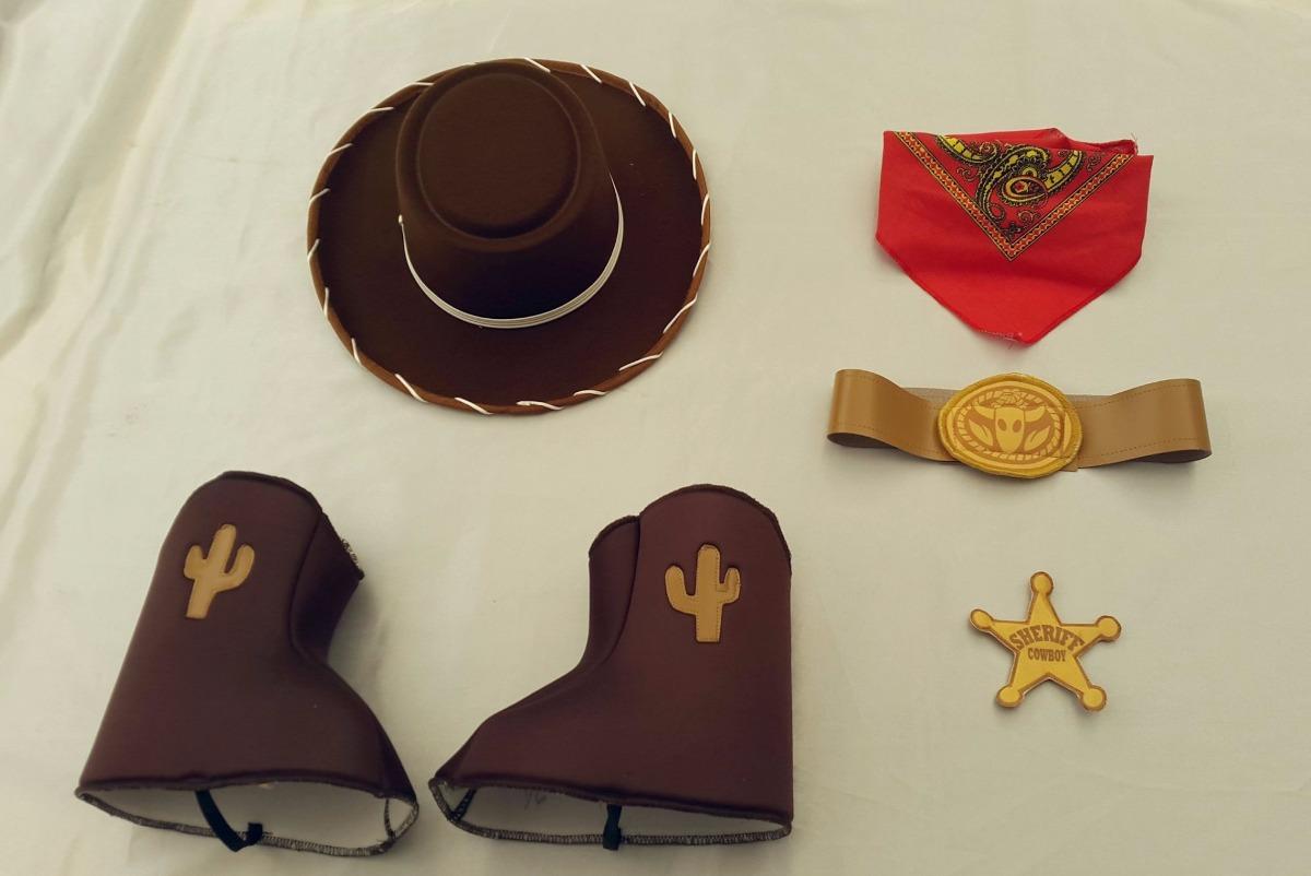 Disfraz Tipo Woody Toy Story Vaquero Con Cubrebotas 390 ...