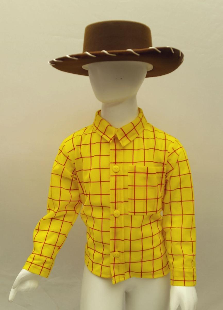 05fcb031c0cff Disfraz Tipo Woody Toy Story Vaquero Con Sombrero 10-12 -   339.00 ...