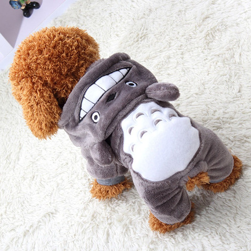 disfraz totoro para perro gato halloween tallaxs envio hoy *