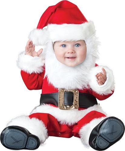 disfraz traje de bebé de santa incharacter
