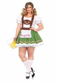 d43c0d2a1 Disfraz Traje Dirndl Aleman Alemania Oktoberfest Para Damas