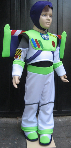 disfraz traje estilo buzz lightyear toy story de lujo !!!
