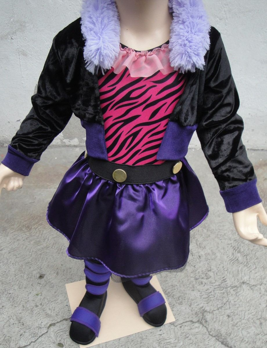 Disfraz Traje Estilo Clawdeen Loba Monster High Caccesorios