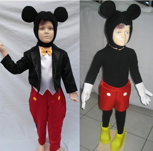 Disfraz Traje Inspirado En Mickey Mouse C accesorios Hermoso ... 68b7ae9fa55