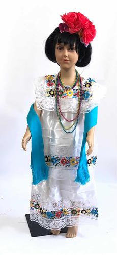 disfraz traje típico de yucatán para niña yucateca