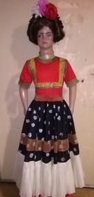Disfraz Traje Vestido De Frida Kahlo