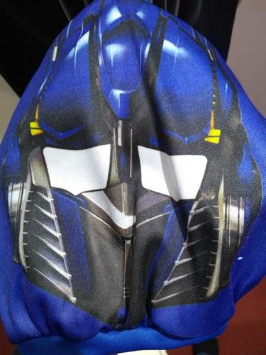disfraz transformers optimus prime talle 1-2-3-4