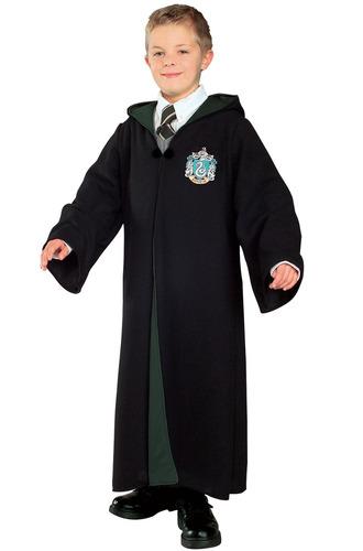 disfraz túnica slytherin de harry potter rubies para niño l