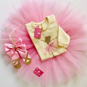 3d10f8263 Disfraz Tutu Bailarina Danza Con Body Bebe