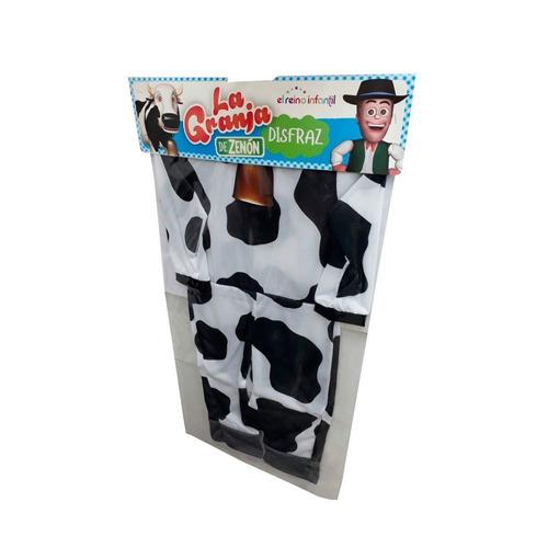disfraz vaca lola la granja de zenon new toy's talle 1