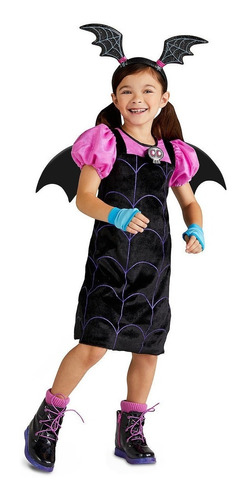 disfraz vampirina niña talla 5/6 vampirina original disney