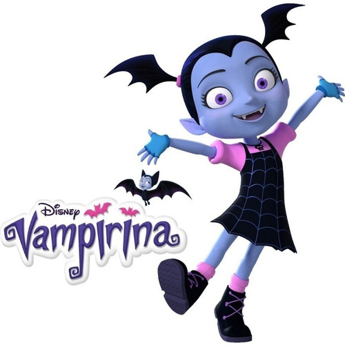 disfraz vampirina original disney brilla en la oscuridad