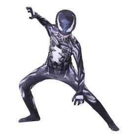 Disfraz Venom Spiderman Oscuro Capitán América Barman Avenge