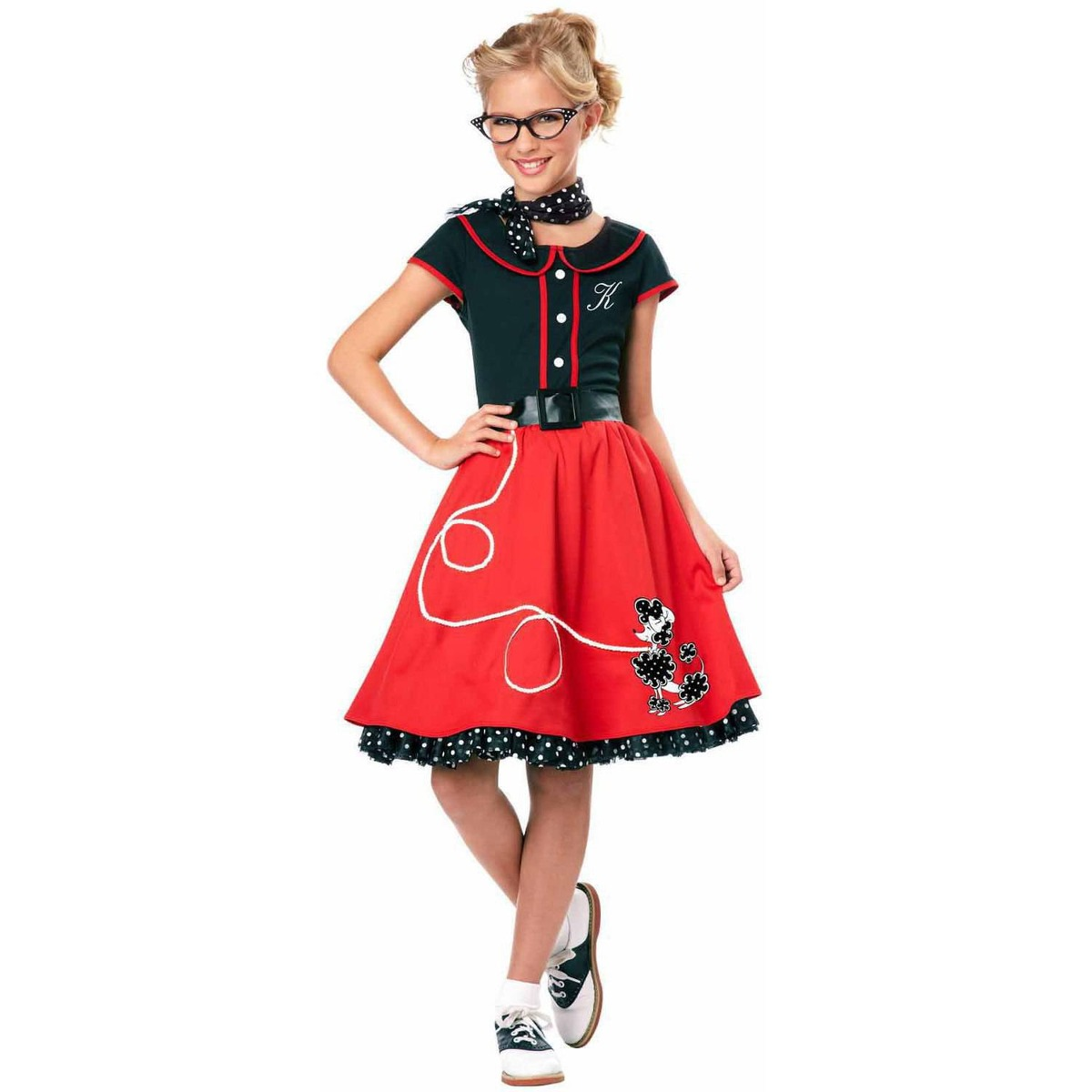 disfraz vestido aos 50 para nia talla l halloween cargando zoom