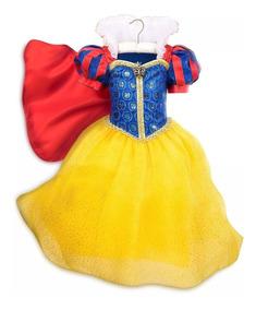 Disfraz Vestido Blancanieves Disney Store Original