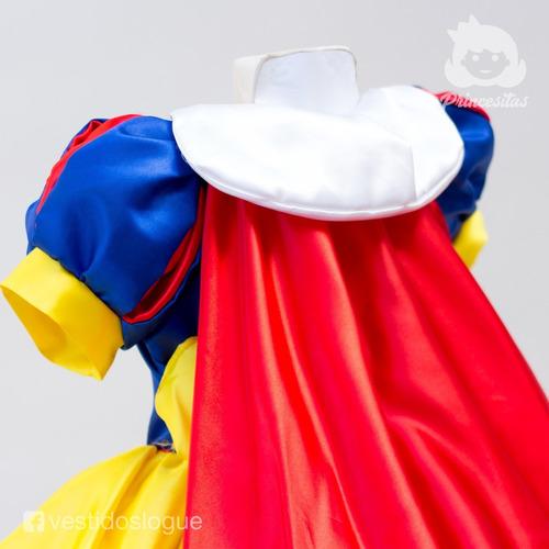 disfraz vestido blancanieves princesa