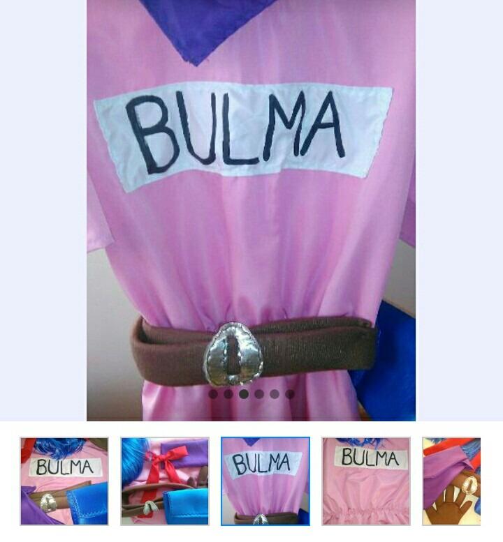 Dragon Z Disfraz Vestido Bulma Cosplay MSUVGqzp