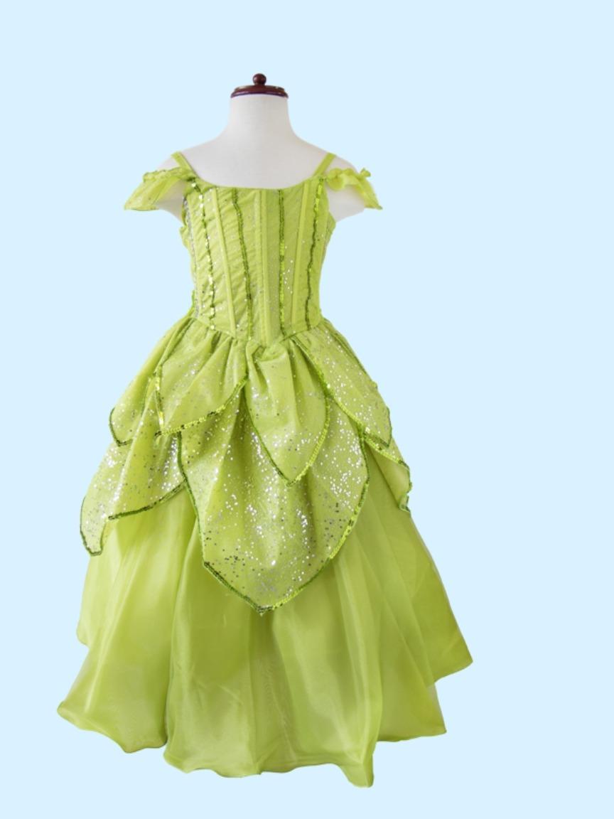 Disfraz Vestido Campanita Envio Gratis